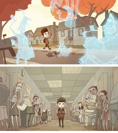 Paranorman_DavidVandervoort-9. This movie stole my heart stepped on it and gave it back happier