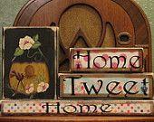 Spring Sign - Home Tweet Home