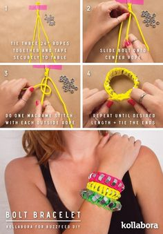 Indian Summer Hardware Bracelets | 10 Ways To Turn Your Hardware Store Into A Jewelry Store