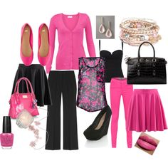Pretty in Pink, created by kerimccain.polyvore.com