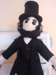 Abraham Lincoln Poppet Style - TOYS, DOLLS AND PLAYTHINGS