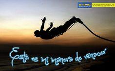 """""""Vencer tus miedos y Renacer un poco""""  Pon a prueba tu coraje en cada aventura y forma parte de nuestra comunidad www.deaventura.pe"""