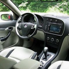 2003 Concept Car – Saab 9-3 Sport hatch interieur   SAAB   Pinterest ...