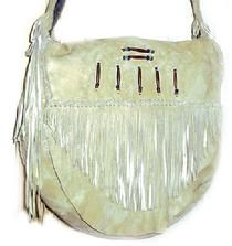 A nice leather drum bag.