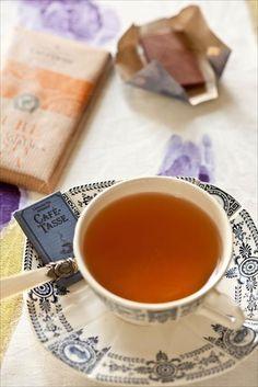 Chocolate and Tea cup on www.panierdesaison.com