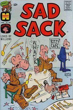 Sad Sack Cartoon   Sad Sack Comics #166 Comic Books - Covers, Scans, Photos in Sad Sack ...