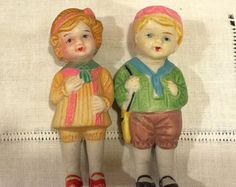 Antique Bisque Dolls 2 Frozen Charlotte by VintagePrairieHome