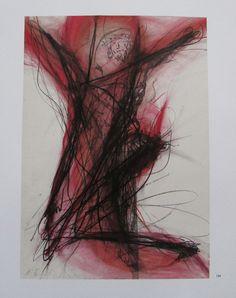 Arnulf Rainer DIE GEKREUZIGTE Übermalung Kunstdruck Bibel Religion art print | eBay