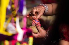 Maang bharaai on http://www.weddingsonline.in/blog/real-weddings-richa-pulkits-fun-filled-lucknowi-extravaganza-rohan-mishra-photography/