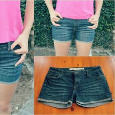 Cut off jean shorts Perfect for summer outfit or concert outfit. Shorts Jean Shorts