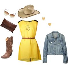 Oh my goodness. i want this exact outfit. minus the hat.. its that ugly palm leaf that team ropers wear.