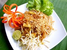 Pad Thai - How To Make Pad Thai | Thai Food Recipes Menu, Thai Noodles, Thai Curry, How To Cook Thai Food