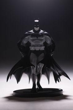 Batman Black and White George Perez statue