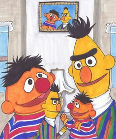 I love Ernie&Bert. ernie and bert, with puppets Sesame Street Muppets, Sesame Street Characters, Movie Characters, Fictional Characters, Bert & Ernie, Jim Henson, Arts And Entertainment, Geek Chic, Puppets