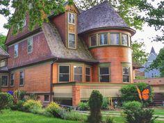 A house build by Frank Lloyd Wright