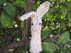 Bunny Rabbit Finger Puppet for Storytelling, Pattern Tutorial - Natural Suburbia