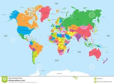 Printable map of the world for free download also buy high political map of the world vector gumiabroncs Images