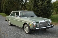 "My 1974 Mercedes 240D was gold, gold, gold right down to the hubcaps. We called it ""The Chicken Nugget""."