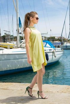 Rochie de vara din voal galbena Jolly 4 Summer Dresses, Casual, Outfits, Fashion, Moda, Suits, Fashion Styles, Fasion, Clothes