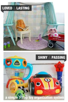 There are Only Two Types of Toys: Loved & Lasting or Shiny & Passing. Find out what to do with them in this helpful post