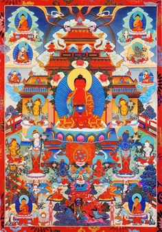Brief Prayer to be Reborn in the Blissful Pure Land of Amitabha
