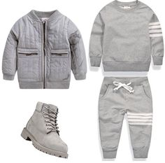 Cute baby outfits suitable for any baby boy. Toddler Boy Fashion, Little Boy Fashion, Toddler Boy Outfits, Baby Kids Clothes, Toddler Boys, Kids Fashion, Style Fashion, Baby Boy Swag, Kid Swag