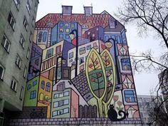 Graffitis y murales en Wroclaw