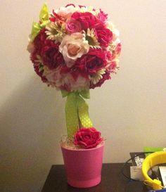 Copăcelul cu flori #aranjament #flori #artificiale #floriartificiale #roz #cyclamen #decoratiuni #unicat #cadou #inedit #surpriza #emotie #bucurie #flowerstagram www.beatrixart.ro