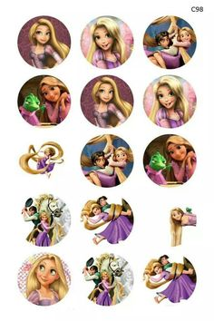 Free Bottlecap images. Tangled