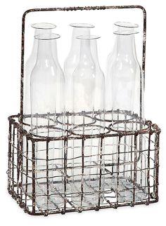 "9"" Craiova Bottle Holder, Rust | Style Fusion  | One Kings Lane"
