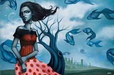 Artistaday.com : Ontario, Canada artist Sarah Joncas via @artistaday
