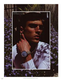 Con las flores como protagonistas de sus looks, Jean Henry es fotografiado en eclécticos looks con prints acordes a la próxima temporada por Higor Bastos