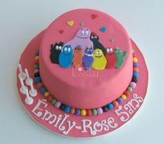 Barbapapa Birthday Cake - La Forge à Gâteaux #Barbapapa #BarbapapaCake www.laforgeagateaux.com