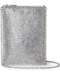 Jessica Mcclintock | Gina Sparkle Mesh Shoulder Bag Crossbody | Lyst