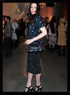 Liv Tyler at the Pioneer Works Fete in The One I Love NYC Jewelry