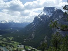 Mount Rundel from Tunnel Mountain, Banff by David J Coombes, via Flickr