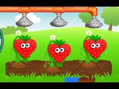 Baby Learn Shapes and size With Fruits and Vegetables, Learning Shapes f...