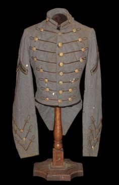 Civil War era VMI cadet coatee, Picket Post