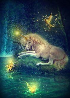 Unicornio mágico