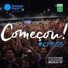 Campus Party Brasília 2017 tecnologia empreendedorismo ciência e muito mais na primeira edição.  #CPBSB #CampusParty #Brasília #AmoBrasília #BrasíliaLinda #MeuSoloSagrado #MeuParaísoEmTerra #BestPlaceInTheWorld