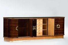 Art Deco Sideboard   From a unique collection of antique and modern sideboards at https://www.1stdibs.com/furniture/storage-case-pieces/sideboards/