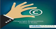Copyright registration helps you protect your work. LegalRaasta India's top copyright consultant can help you file copyright in 3 days at Rs.3499. Call 8750008585 to get copyright application submitted.