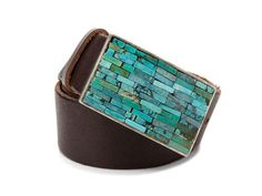 Soooo hot with jeans...Streets Ahead Turquoise Stone Buckle Belt