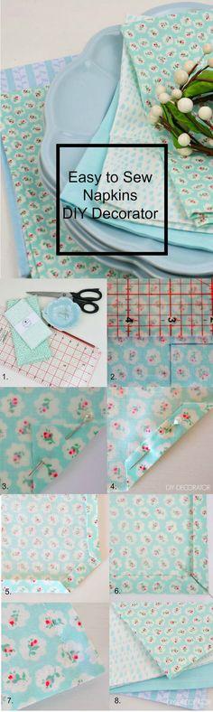 Easy to Sew Napkins