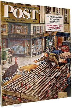 The Saturday Evening Post Thanksgiving Issue from November 27, 1948.