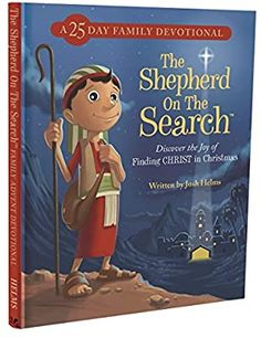 DaySpring Inspirational Christmas The Shepherd On The Search Advent Book, Blue (60946): 0081983624520: Amazon.com: Books Personalized Books For Kids, The Search, Thing 1, The Shepherd, Advent, Family Guy, Joy, Baseball Cards, Fictional Characters
