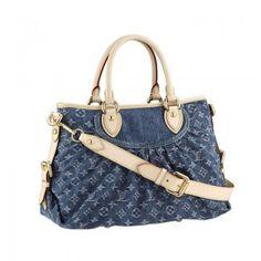 Louis Vuitton M95349 Neo Cabby mm blau Louis Vuitton Damen Taschen