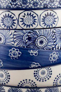 Beautiful hand painted bowls