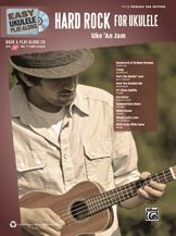 Easy Ukulele Play-Along: Hard Rock for Ukulele -- Learn & play your favorite songs with these easy arrangements! The included CD contains professionally-recorded ukulele renditions of the songs with vocals, plus software to play along, mute the vocals to better hear the ukulele, loop sections, change tempos, & more! Titles: Creep * Feel Like Makin' Love * How You Remind Me * It's Been Awhile * Know Your Enemy * Paralyzer * Summertime Blues * White Room * Whole Lotta Love * With Arms Wide Open.