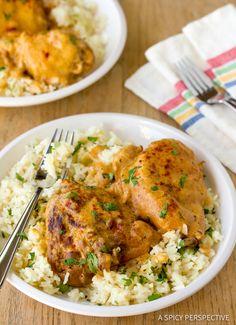 Hungarian Chicken Paprikash (Paprikas) a classic family recipe that brightens the dinner table! It's rich, cozy and bursting with flavor.